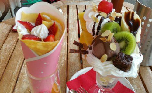 アオイ農園(ぶどうの木)チョコレートパフェ