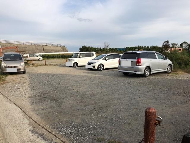 キラナの駐車場