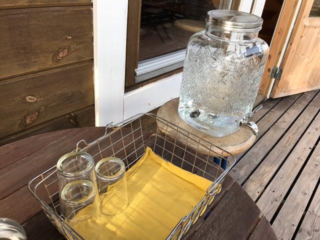 キラナのレモンウォーター水