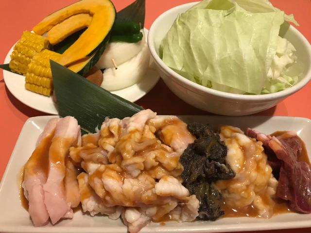 昭和ホルモン本舗泉佐野店の焼肉