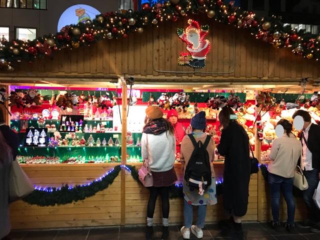 ドイツ・クリスマスマーケット大阪2018