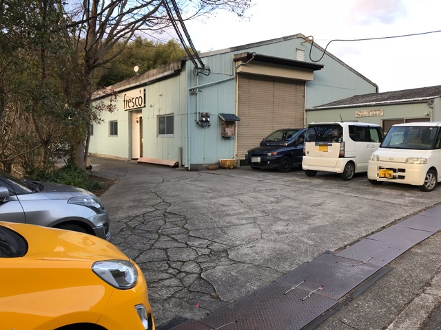 コットカフェの駐車場