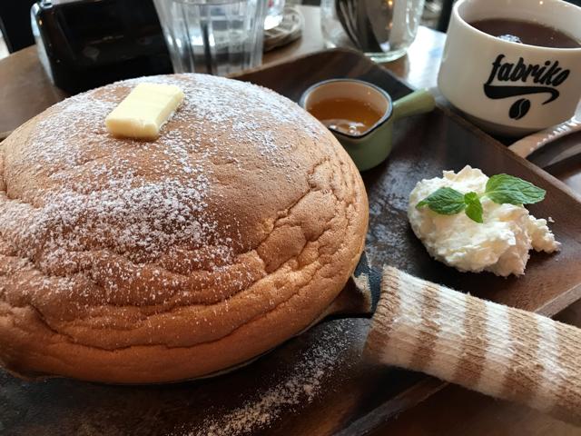 ファブリコの天使のパンケーキ