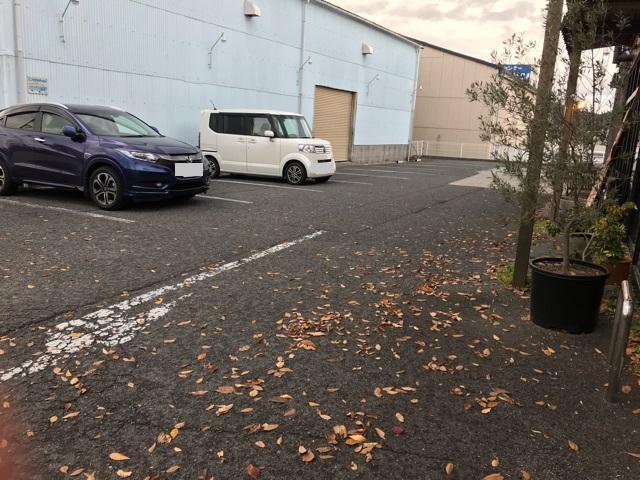ファブリコの駐車場