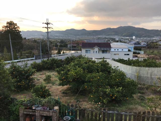 カフェムロから見た景色