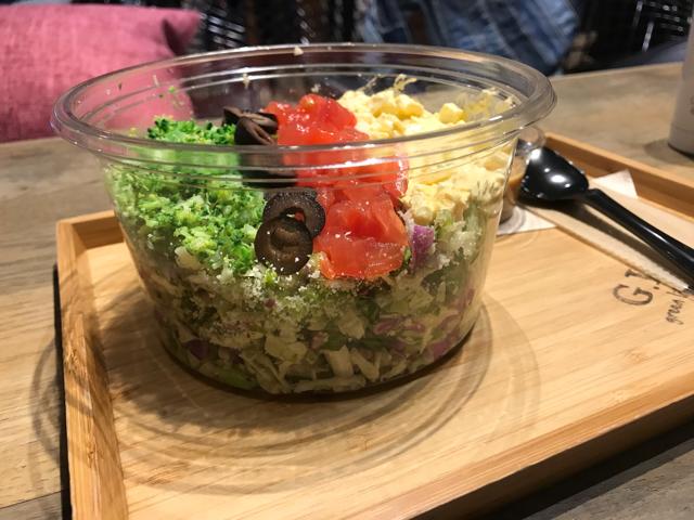 グリーンライフビギニングのチョップドサラダ