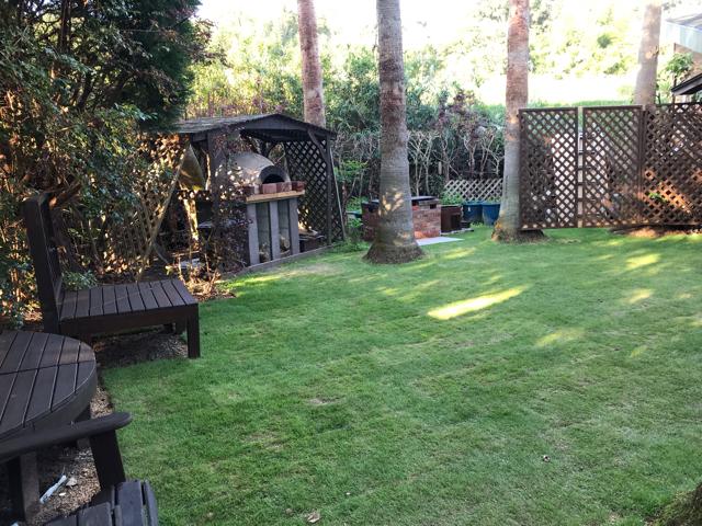 ジャムの森テラスの庭