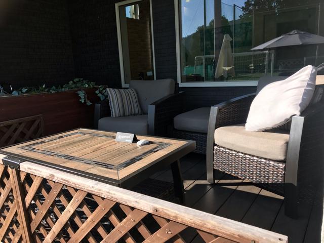 フォレストカフェのテラス席