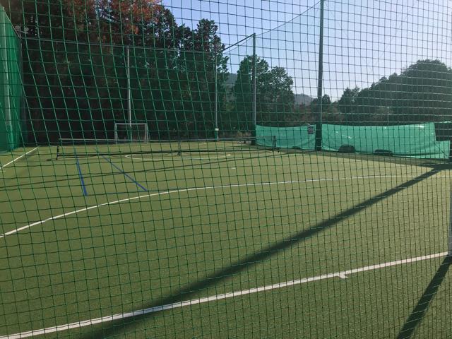 フォレストカフェのテニスコート