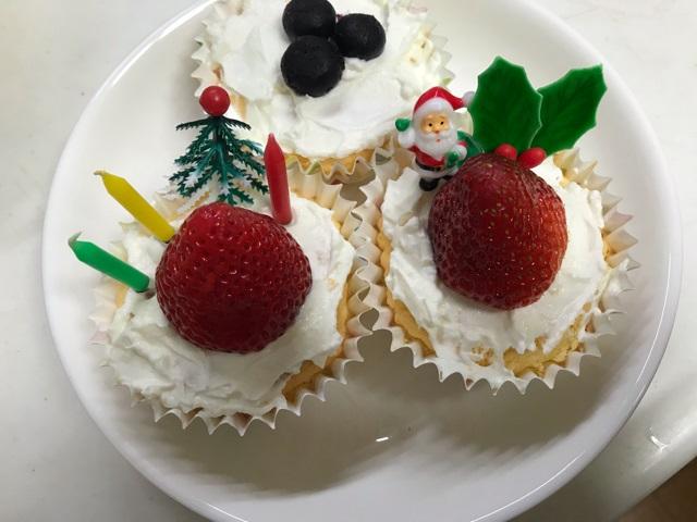 犬用クリスマスケーキの作り方手順