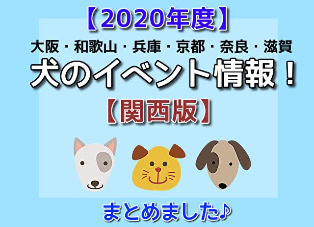 【2020年度】関西のペット(ドッグ)イベント最新情報まとめ☆愛犬と一緒に参加しよう!