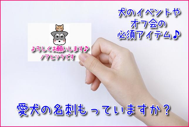 ペット名刺