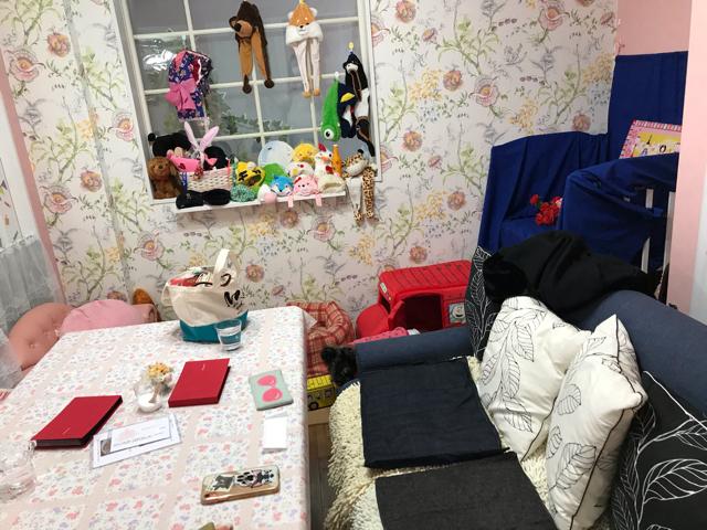 カフェすまいるの個室