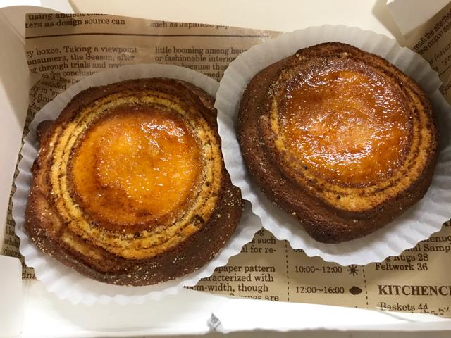 フランシージェファーズカフェ大阪のチーズタルトブリュレ