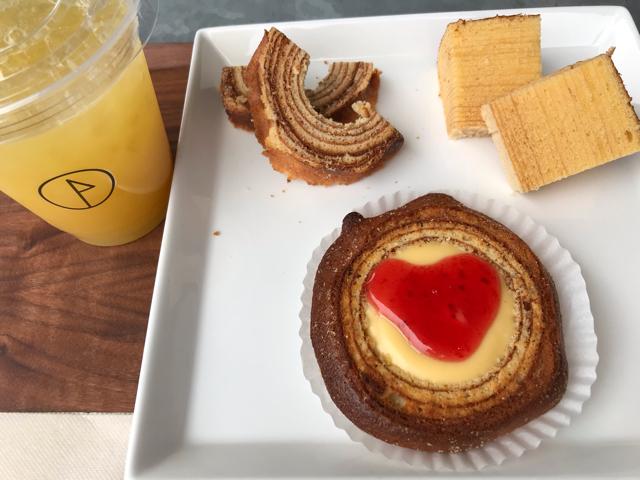 フランシージェファーズカフェ大阪のバウムクーヘン食べ比べセット