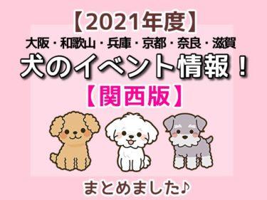 【2021年度】関西でワンちゃんと一緒に参加できるペット(犬)イベント情報をまとめて紹介!愛犬とお出かけを楽しもう♪