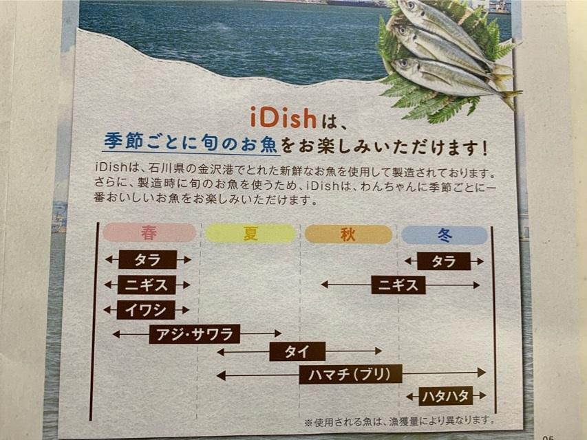 アイディッシュ(idish)のお魚原料
